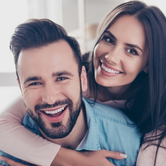 Smiling Couple image